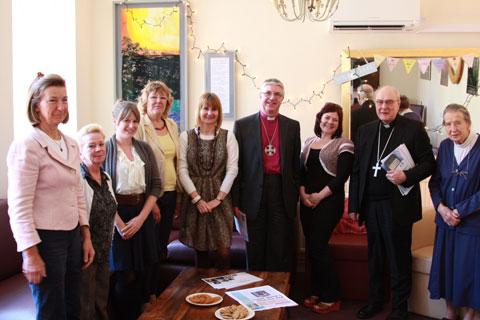Bishops make joint visit to The Magdalene Group