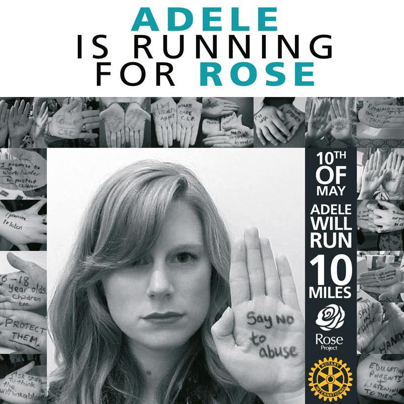 Adele is running for Rose
