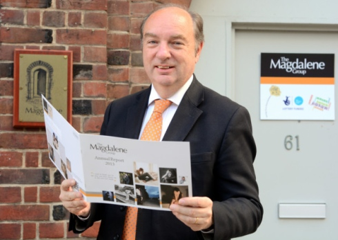 Crime Prevention Minister Norman Baker supports Norwich's Magdalene Group project