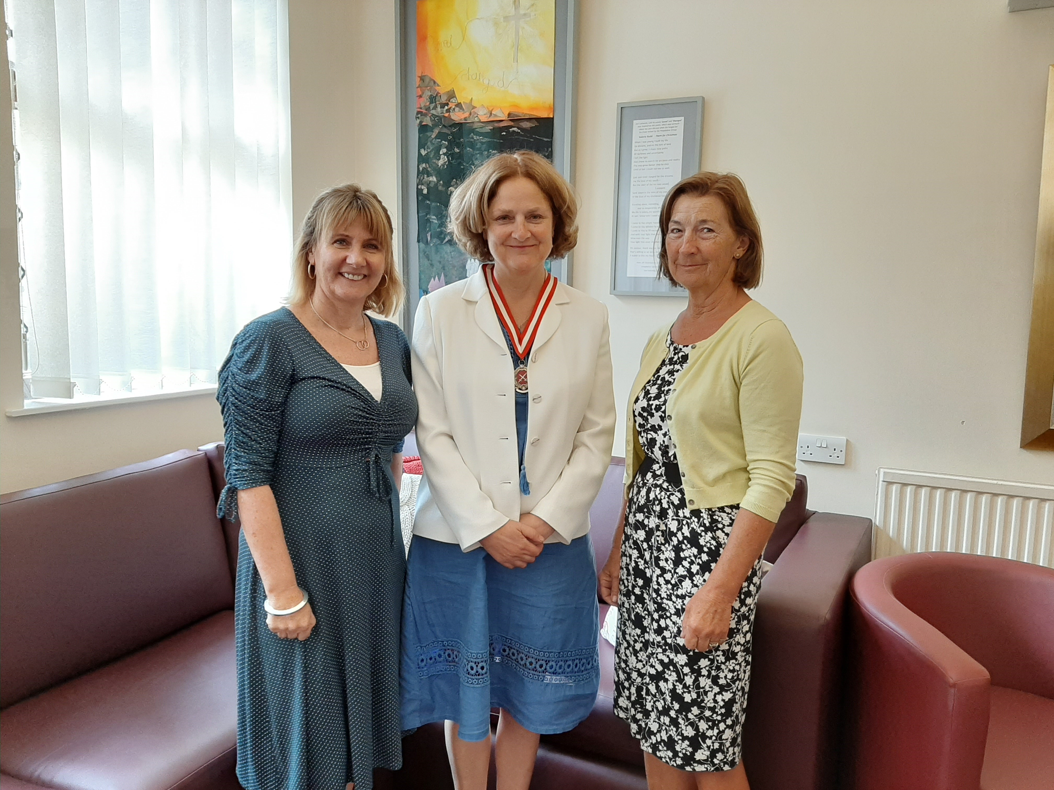 Visit from the High Sheriff of Norfolk