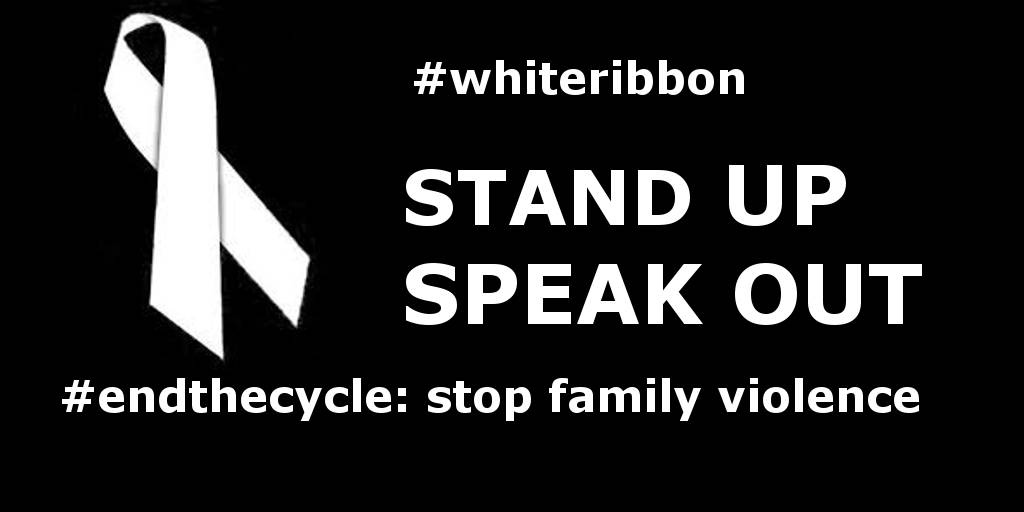 Ahead of White Ribbon Day……